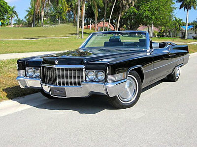 1970 Cadillac Deville convertible, Refrigerator Magnet, 40 MIL Thick