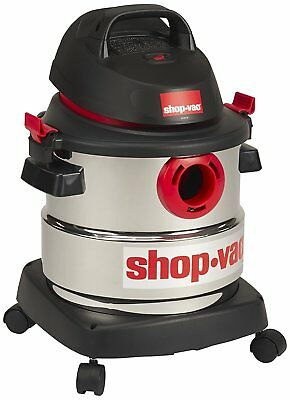 Shop-Vac 5989300 5-Gallon 4.5 Peak HP Stainless Steel Wet Dry Vacuum New Model