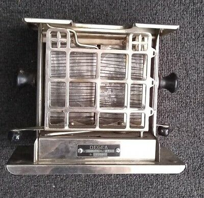 Rare Vintage Antique old DEGEA Toaster from 1910-1920 Germany Nr. 12705