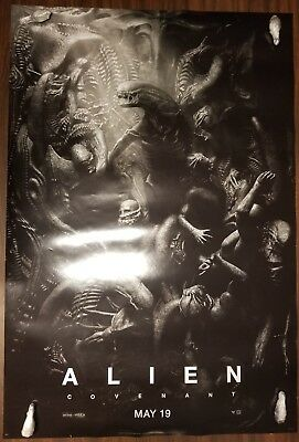 ALIEN COVENANT XENOMORPHS version Original 27x40 2 sided Movie Poster