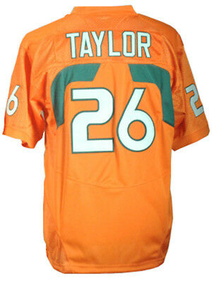 new style 8604f 6850d SEAN TAYLOR MIAMI Hurricanes 2001 2003 authentic Nike ...