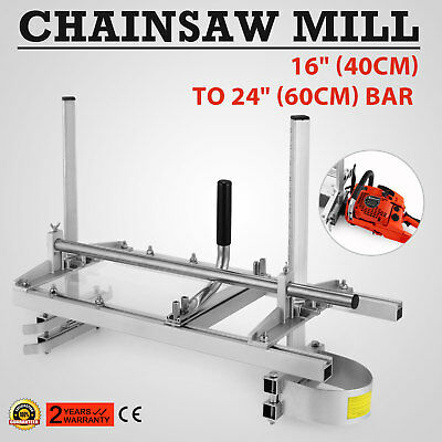 Chainsaw Mill Suits up to a 24'' Bar Tree Pruning Brush Cutter Sharpener Wood