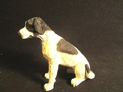 Vintage Seated English Pointer Dog Figure