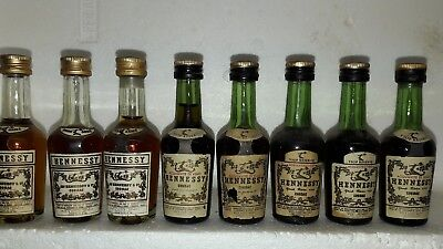 Old 8  miniature cognac hennessy bras arme'fine champagne vsop  perfect