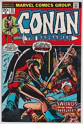 Conan The Barbarian #23 NM- 9.2 First Appearance Of Red Sonja Barry Smith Art!
