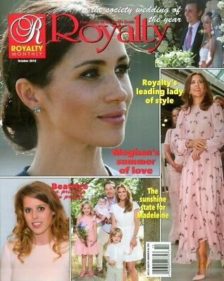 Royalty Monthly October 2018 Meghan Markle