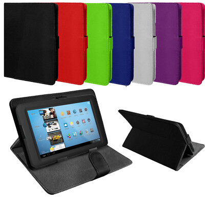 Universal PU Leather Stand Folding Folio Case Cover Pouch For 9 10 Inch Tablets
