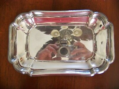 Chadwick International Silver Company 1513 Silverplated Tray