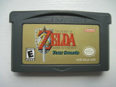 Legend of Zelda: A Link to the Past Four Swords Nintendo Game Boy Advance Saves