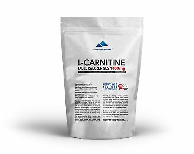L-Carnitine Carnitine tablets / lozenges 1000mg Pure Pharmaceutical Quality