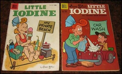 LITTLE IODINE ~ 2 Issues ~ #33 1956 & #47 1960