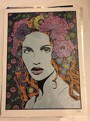 Beauty Art Print Poster By Chuck Sperry Widespread Panic Dryad Naiad X/150