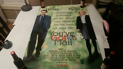 You've Got Mail 1998 Original Movie Poster 27x40 Rolled, Double-Sided
