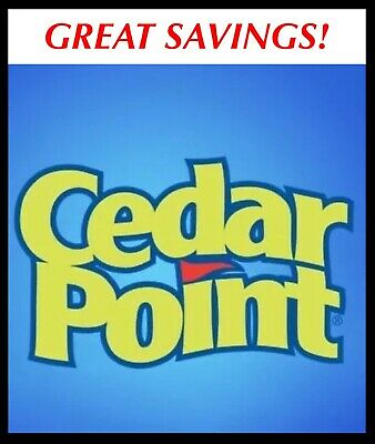 Cedar Point & Cedar Shores Ticket $29.99 Promo Discount Tool 1 Or 2 Day Savings