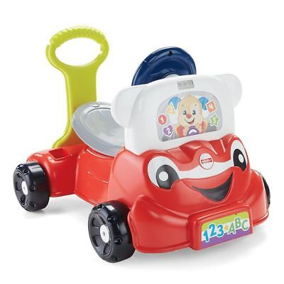 NEW Fisher-Price Laugh & Learn 3-in-1 Smart Car