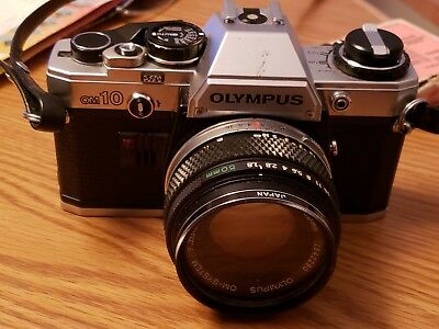Olpmpus OM10 With 50mm 1.8 Auto-s lens