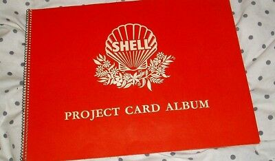 Shell Project Card Album Australian Flowers & Animals 1 To 60  V. Good Condition