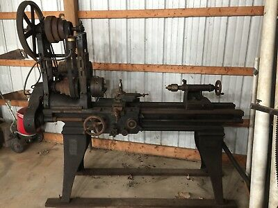 1920'S SOUTH BEND METAL LATHE Serial No  22261 6'bed
