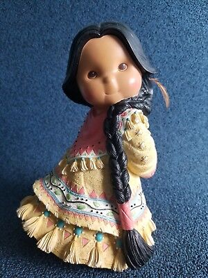 """Friends Of Feather Figurines """"Shy Friend"""" Limited Edition Pre-Owned"""