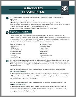 Action Card Lesson Plan