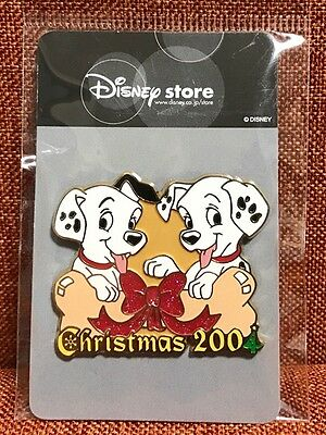 Disney Store Japan One Hundred and One Dalmatians 101 Dalmatians Pin Christmas
