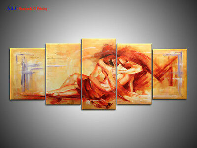 Large Modern Abstract Oil Painting on Canvas Contemporary Wall Art Decor ps258