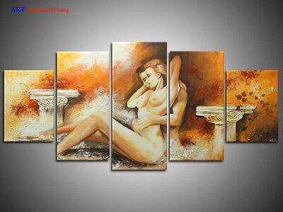 Large Modern Abstract Oil Painting on Canvas Contemporary Wall Art Decor ps260