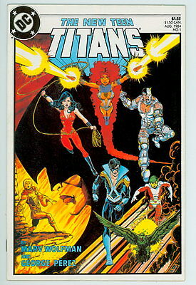 New Teen Titans #1 D.C. 1984 NM- 2nd Series Premiere Issue
