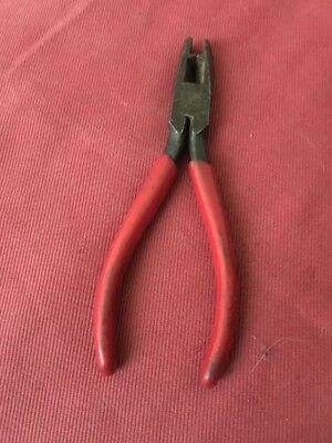 Rare Vintage Utica Bell System C Plier side angle Cutter Model 75492