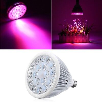 36W E27 LED Full Spectrum Grow Light Lamp Blub for Indoor Hydroponic Plant Flowe