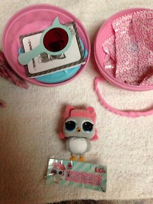 Lol Surprise Pets Series 4 Eye Spy Angel Wings Fuzzy Owl Authentic