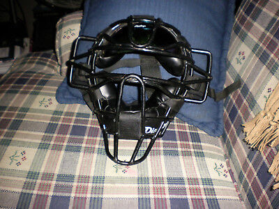 Diamond Umpire Mask-Baseball/Softball-With Reflective Visor Attached