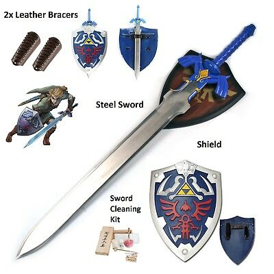 LARP Zelda Cosplay full gift set Twilight Princess Link's steel master sword elf
