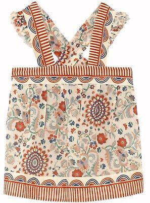 STELLA MCCARTNEY girls floral SUNTOP / BLOUSE 7/8Y 11/12Y fine cotton BNWT