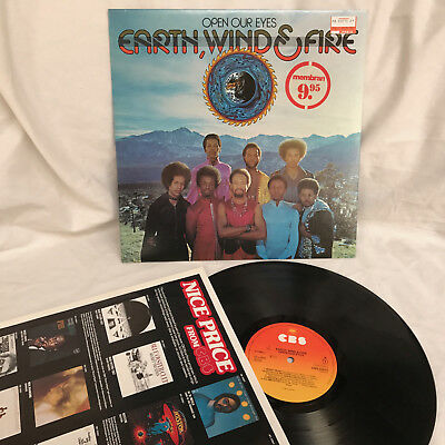 Lp – Earth, Wind & Fire  / Open Our Eyes / Nm
