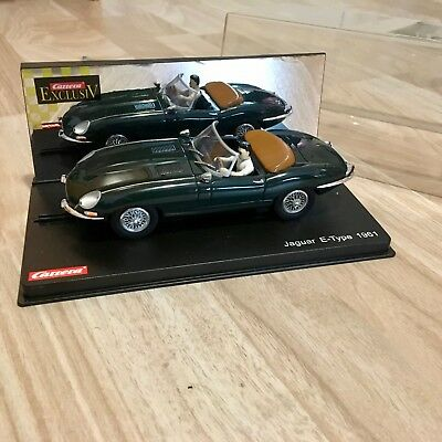 1:24 Carrera Exclusiv JAGUAR E-TYPE 1961 Nr. 20485