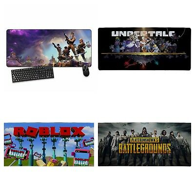 XXL FORTNITE, UNDERTALE, ROBLOX, BATTLEGROUND Mousepad Gaming Mouse Pad XBOX.