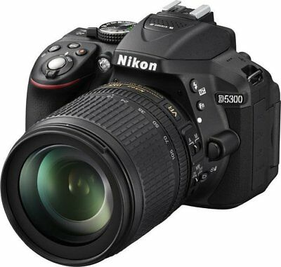 Nikon D5300 24.2MP DSLR Camera w/AF-S VR 18-105mm (SHARPEST on market) & extras