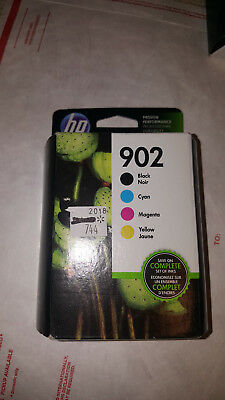 HP 902 Black & 902 Tri-Color Ink Combo Pack EXP 2019