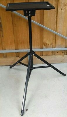 Projector stand, 3 Legged Adjustable Tripod, fold up/ away table