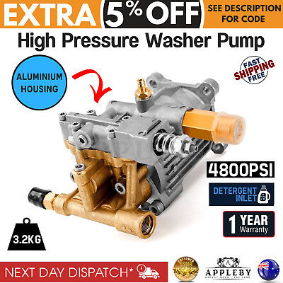 Jet-USA 4800 PSI Replacement High Pressure Washer Pump PRWPMPJETA100 Spare Part