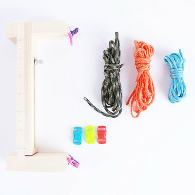 Umbrella Rope Wooden Frame Diy Knitting Tool Hand-Woven Educational Loom ST