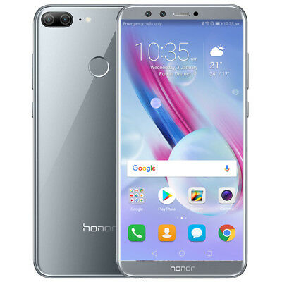 """Neuf Huawei Honor 9 Lite 5.65"""" Android 4G Smartphone 3+32Go 4*Cam Gris Téléphone"""