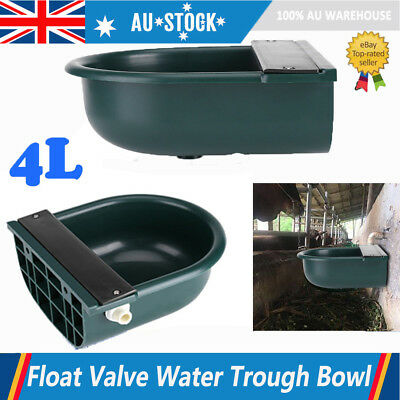 4L Automatic Stock Water Trough Sheep Dog Chicken Horse Cow Auto Fill Drink Bowl