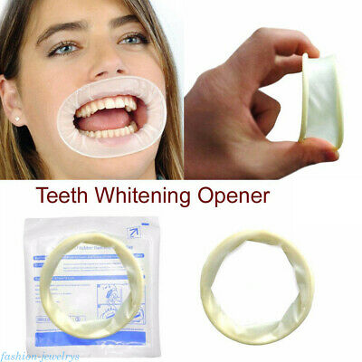 1PC Dental Disposable Mouth Gag Opener Soft Sterile Rubber Dam Cheek Retractor