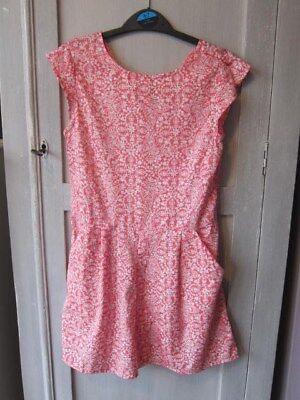 Girls Next pink playsuit, aged 9, great condition