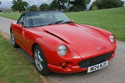 TVR Chimaera 400 in Formula Red with grey interior. Lowish miles