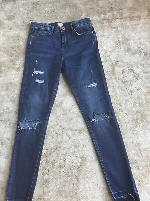 girls river island jeans age 11