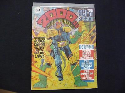 2000AD Sci-fi Special issue 3 comic - 1980 (LOT#5429)