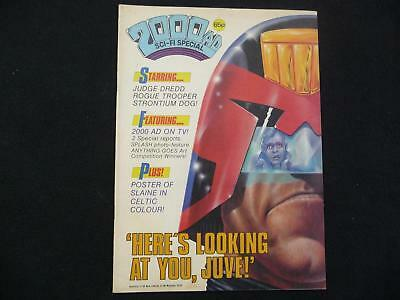 2000AD Sci-fi Special issue 9 comic - 1986 (LOT#5427)